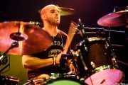 Craig Sala, baterista de Kris Rodgers & The Dirty Gems, CC Larratxo KE, Donostia / San Sebastián. 2015