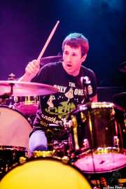 Joseba Arza, baterista de Bullet Proof Lovers, CC Larratxo KE, Donostia / San Sebastián. 2015