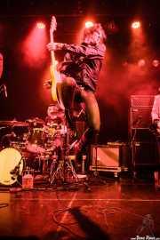 Joseba Arza -batería- y Juan Irazu -guitarra- de Bullet Proof Lovers, CC Larratxo KE, Donostia / San Sebastián. 2015