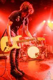 Luiyi Costa -guitarra- y Joseba Arza -batería- de Bullet Proof Lovers, CC Larratxo KE, Donostia / San Sebastián. 2015