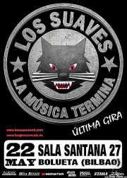 Cartel de Los Suaves, Santana 27, Bilbao.