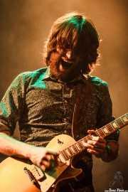 Pere Mallén, guitarrista de Julián Maeso, Social Antzokia, Basauri. 2015
