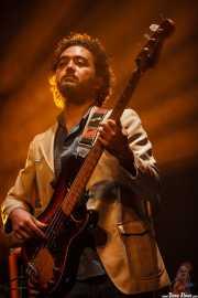 Paco Cerezo, bajista de Julián Maeso, Social Antzokia, Basauri. 2015