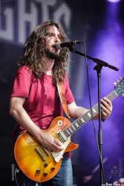 Mario Coira, guitarrista y cantante de Highlights, Azkena Rock Festival, Vitoria-Gasteiz. 2015