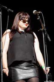 Cantante corista de The Dubrovniks, Azkena Rock Festival, Vitoria-Gasteiz. 2015