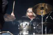 James Baker, baterista de The Dubrovniks, Azkena Rock Festival, Vitoria-Gasteiz. 2015