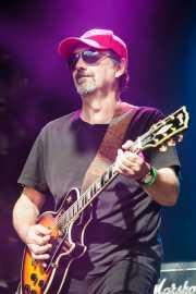 Peter Simpson, guitarrista y cantante de The Dubrovniks, Azkena Rock Festival, Vitoria-Gasteiz. 2015