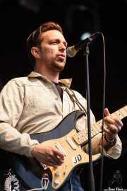 JD McPherson, cantante y guitarrista , Azkena Rock Festival, Vitoria-Gasteiz. 2015