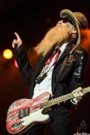 Billy Gibbons, cantante y guitarrista de ZZ Top