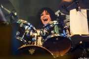 Demetra Plakas, baterista de L7, Azkena Rock Festival, Vitoria-Gasteiz. 2015