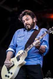 Johnny Hickman, guitarrista de Cracker, Azkena Rock Festival, Vitoria-Gasteiz. 2015