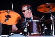CoCo Owens, baterista de Cracker, Azkena Rock Festival, Vitoria-Gasteiz. 2015