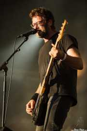 Aaron Beam, cantante y bajista de Red Fang, Azkena Rock Festival, Vitoria-Gasteiz. 2015