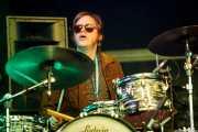 Mikey Post, baterista de Reigning Sound, Azkena Rock Festival, Vitoria-Gasteiz. 2015