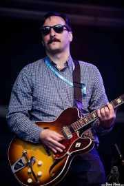 Mike Catanese, guitarrista de Reigning Sound, Azkena Rock Festival, Vitoria-Gasteiz. 2015