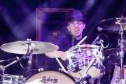 Stephen Chopek, baterista de John Paul Keith, Azkena Rock Festival, Vitoria-Gasteiz. 2015