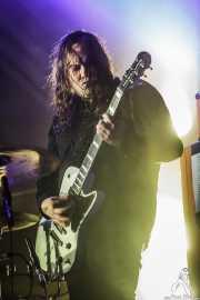Bjarte Lund Rolland, guitarrista de Kvelertak, Azkena Rock Festival, Vitoria-Gasteiz. 2015
