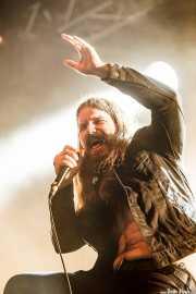 Erlend Hjelvik, cantante de Kvelertak, Azkena Rock Festival, Vitoria-Gasteiz. 2015