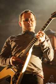 Vidar Landa, guitarrista de Kvelertak, Azkena Rock Festival, Vitoria-Gasteiz. 2015