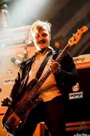 Marvin Nygaard, bajista de Kvelertak, Azkena Rock Festival, Vitoria-Gasteiz. 2015