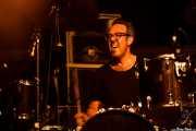 Ordy Garrison, baterista de Wovenhand, Azkena Rock Festival, Vitoria-Gasteiz. 2015