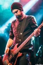 Neil Keener, bajista de Wovenhand, Azkena Rock Festival, Vitoria-Gasteiz. 2015