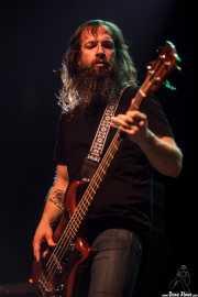 Jeff Matz, bajista de High on Fire, Kafe Antzokia, Bilbao. 2015