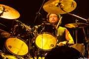 Des Kensel, baterista de High on Fire, Kafe Antzokia, Bilbao. 2015