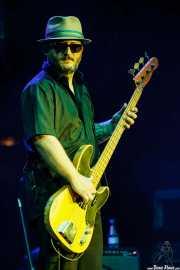 Bajista de Curtis Salgado, BluesCazorla - Plaza de toros, Cazorla. 2015