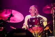 Steve Rushton, baterista de Imelda May, BluesCazorla - Plaza de toros, Cazorla. 2015