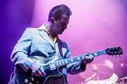 Oliver Darling, guitarrista de Imelda May, BluesCazorla - Plaza de toros, Cazorla. 2015