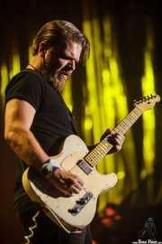 Matt Hill, guitarrista de Nikki Hill, BluesCazorla - Plaza de toros, Cazorla. 2015