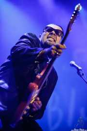 Igor Prado, guitarrista y cantante de Igor Prado Band & Willie Walker, BluesCazorla - Plaza de toros, Cazorla. 2015