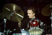 Dylan Howe, baterista de Wilko Johnson Band, BluesCazorla - Plaza de toros, Cazorla. 2015