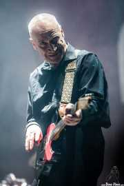 Wilko Johnson, cantante y guitarrista de Wilko Johnson Band, BluesCazorla - Plaza de toros, Cazorla. 2015