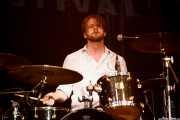 Kendall Newby, baterista de Moreland & Arbuckle, BluesCazorla - Plaza de toros, Cazorla. 2015