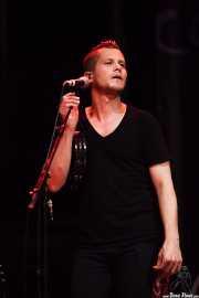 Brandon Young, cantante corista de John Hiatt & The Combo, BluesCazorla - Plaza de toros, Cazorla. 2015