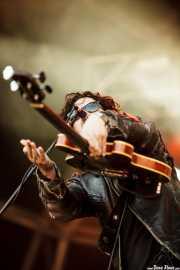 Robert Levon Been, cantante y bajista de Black Rebel Motorcycle Club, Bilbao BBK Live, Bilbao. 2015