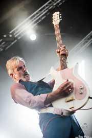 Ruben Block, cantante y guitarrista de Triggerfinger, Bilbao BBK Live, Bilbao. 2015