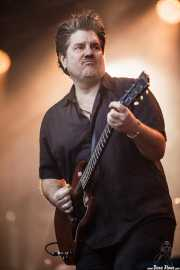 David Immerglück, guitarrista y Lap steel guitar de Counting Crows, Bilbao BBK Live, Bilbao. 2015