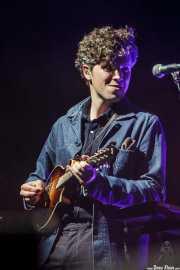 Tom Hobden, mandolinista (en gira) de Mumford & Sons, Bilbao BBK Live, Bilbao. 2015