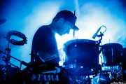 Thom Green, baterista de Alt-J, Bilbao BBK Live, Bilbao. 2015