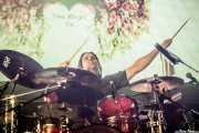 Asier Basabe, bateristade Zea Mays, Bilbao BBK Live, Bilbao. 2015