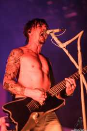 C.C., guitarrista de Shaka Ponk, Bilbao BBK Live, Bilbao. 2015