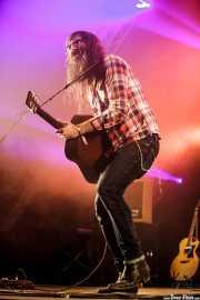 Javier Vielba, cantante y guitarrista de Arizona Baby, Bilbao BBK Live, Bilbao. 2015