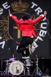 Ty Taylor, cantante de Vintage Trouble, Bilbao BBK Live, Bilbao. 2015