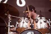 Dean Gordon, baterista de Sheppard, Bilbao BBK Live, Bilbao. 2015