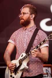 Michael Butler, guitarrista de Sheppard, Bilbao BBK Live, Bilbao. 2015