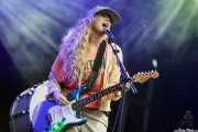Katie White, cantante y guitarrista de The Ting Tings, Bilbao BBK Live, Bilbao. 2015