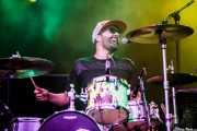 Jules De Martino, baterista y guitarrista de The Ting Tings, Bilbao BBK Live, Bilbao. 2015